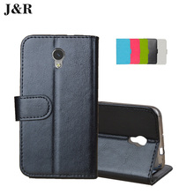 J&R ZTE Blade V7 Case PU Leather Phone Cover Flip Wallet Bag Stand - Cyboris Technology Co., Ltd. store
