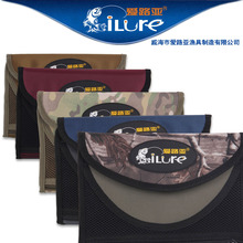 Ilure soft lure bag waterproof fishing bag 24.5*6.5*3cm free shipping(China (Mainland))