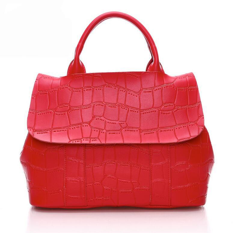 Brand Women Embossing Genuine Leather Bags Handbags Large Shoulder Bags Designer Vintage Cover Totes Bolsas Femininas Bolsa<br><br>Aliexpress