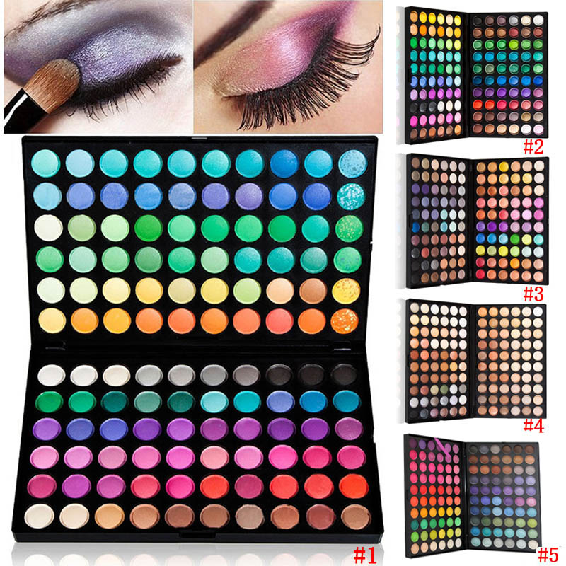 New Fashion Professional 120 Full Color Makeup Cosmetic Kit Eye Shadow Palette High Quality<br><br>Aliexpress