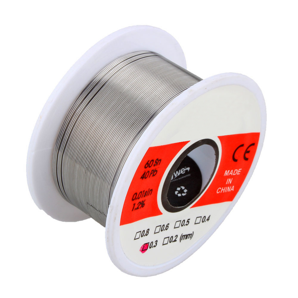 1 Pcs 0.3mm 50g Tin Lead Rosin Core Solder Wire Soldering Reel Weld Wire High Quality(China (Mainland))