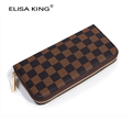 HOT Vintage Unisex Long Women s Wallets PU Leather Money Bags Fashion Ladies Purses and Wallets