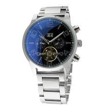 Mont mundial reloj. cuarzo multifuncionales agujas para hombre reloj reloj masculino