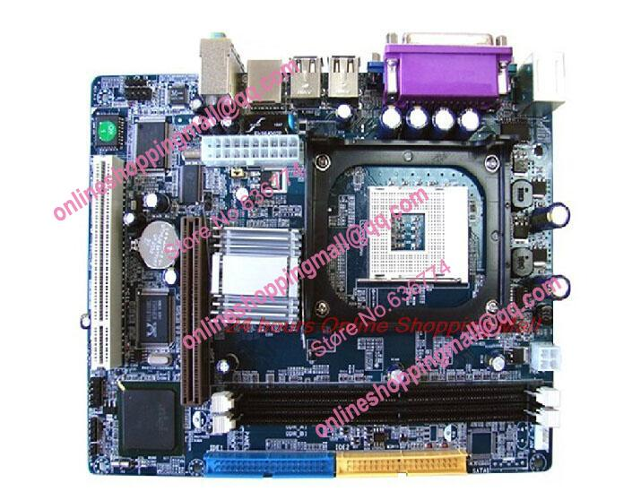 New 845GV font b Motherboard b font 478 needle board integrated support diskless boot one year