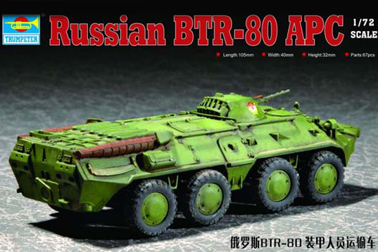 hobby cars model 1/72 Russian BTR-80 APC armored personnel carriers model kit toy Child kid best gift<br><br>Aliexpress
