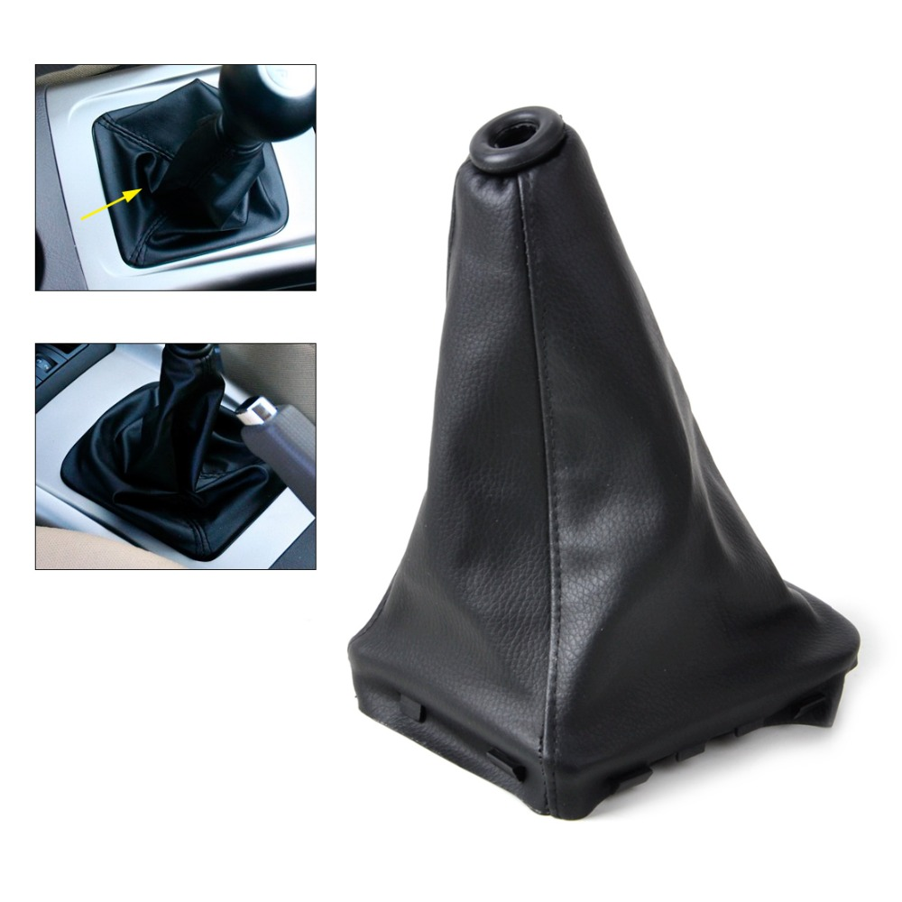 Free Shipping&amp;Tracking New PU Leather Gear Stick Shift Knob Cover Boot Gaiter For 2000-2003 Hyundai Elantra/Avante XD   ECA02219<br><br>Aliexpress