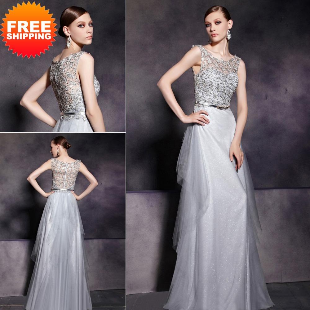 Серое Платье Свадебное Купить