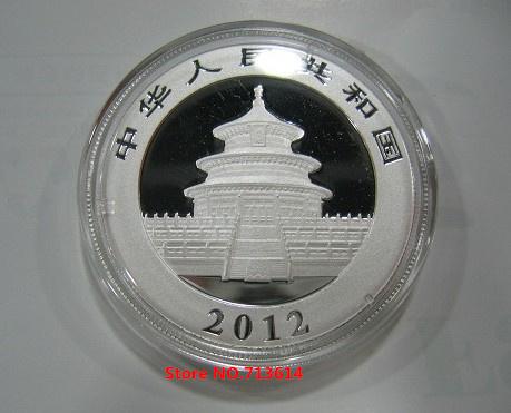 Wholesale 2012 Panda China 1OZ 10YUAN Panda Silver coin BU/MINT SEALED /FREE SHIPPING(China (Mainland))