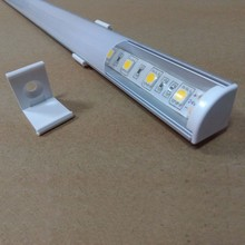 10m/Lot DHL Free shipping LED  Profile with PC Cover Cabinet Wardrobe Profile  LED Aluminum Channel   M1610(China (Mainland))