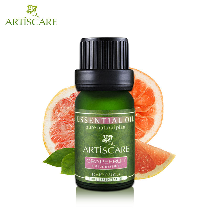 deep clean pores skin tightening adjust oily skin and acne ARTISCARE grapefruit pure essential oil 10ml cleaning face aroma oil(China (Mainland))
