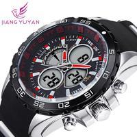 2015 Latest  WEIDE Brand Analog Wristwatch Men Sports Watch Japan Quartz Movement Watches 1 Year Guarantee