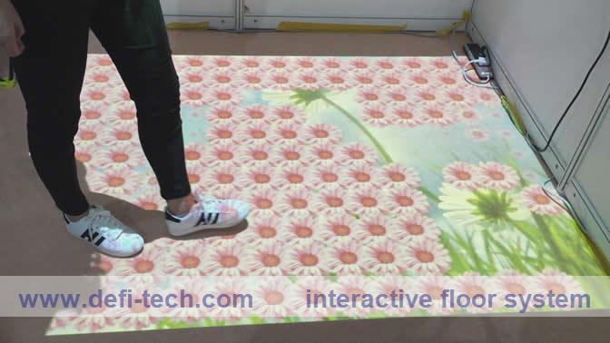 Good Price and Best Technical support Interactive Floor/wall Projection system with 118 effects(China (Mainland))