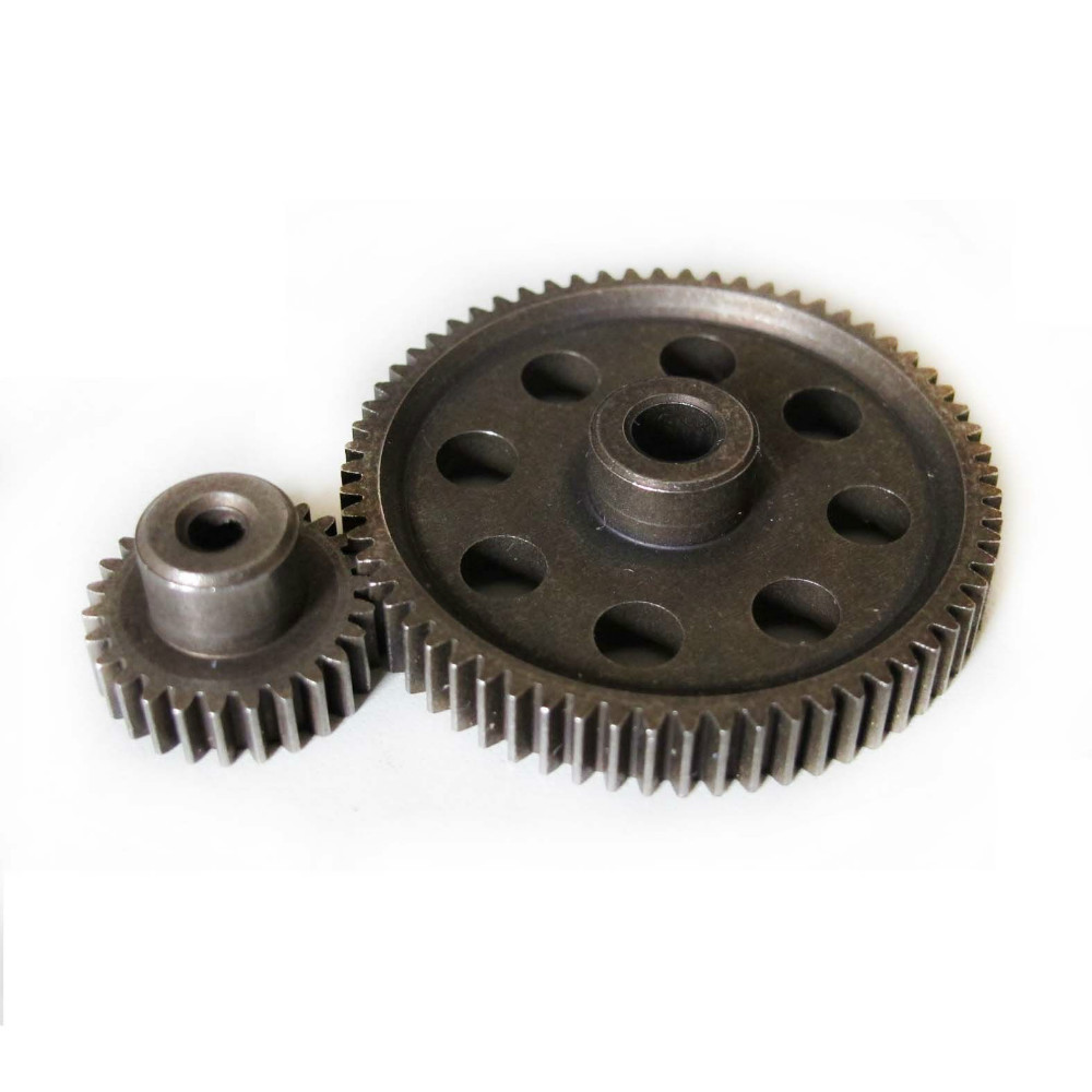 HSP RC 1/10 11184 & 11176 Differential Steel Metal Main Gear 64T Motor 26T - liang zhiqing's store