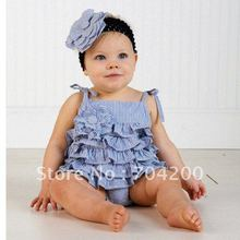 12pcs/lot-Infant dresses/Baby Rompers/baby wear/baby clothes/Babysuits/Infant T-shirt(China (Mainland))