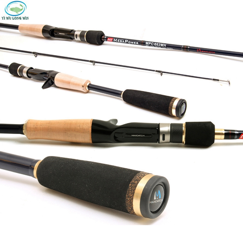 Free shipping brand stream fishing rod spinning for Shipping fishing rods