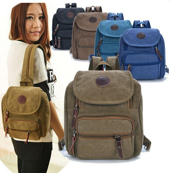 Fashion Women Casual Canvas backpacks for teenage girls Purity Bagpack Girls Schoolbag Small Student  Female Shoulder Bookbag<br><br>Aliexpress