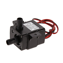 Free Shipping Ultra-quiet DC 12V 3M 240L/H Brushless Submersible Water Pump High Qualtiy mini electric submersible waterpumpE5M1(China (Mainland))
