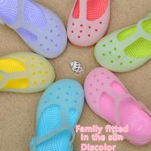 2016 caramella di Estate EVA sandali di modo cava traspirante scarpe per bambini ragazzi ragazze pantofole dei sandali di paternità Sandale mamma scarpe(China (Mainland))