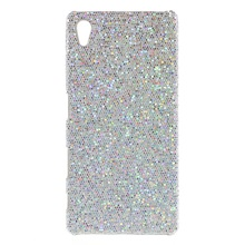 Buy Sony Xperia Z5 / Z5 Dual Phone Cover Glitter Sequins Leather Coated Hard Shell Case Sony Xperia Z5 / Z5 Dual Silver for $3.19 in AliExpress store