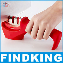 FINDKING brand 3 Stages (Diamond & Tungsten steel & Ceramic) Kitchen Knife Sharpener ,Sharpening Stone Household Knife Sharpener(China (Mainland))