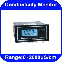 Digital envío gratis Online conductividad probador del Monitor del analizador del metro 0-2000us / cm ATC CM-230