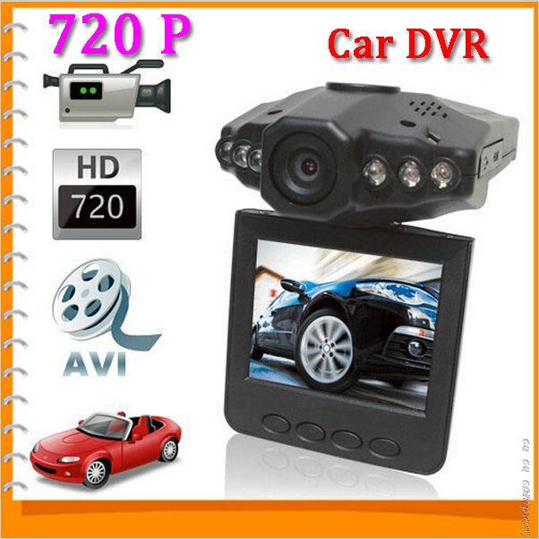 Sale! 720P HD Night Vision Mini Auto Car DVR Camera Video Recorder Vehicle Car Black Box + 2.5 Inch TFT Rotatable LCD Screen(China (Mainland))