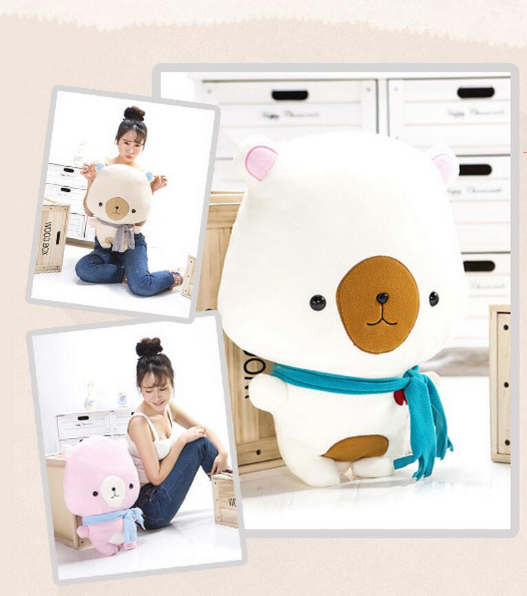 plush toy clouds bear doll Care bears stuffed animal scarf bear 55cm(China (Mainland))