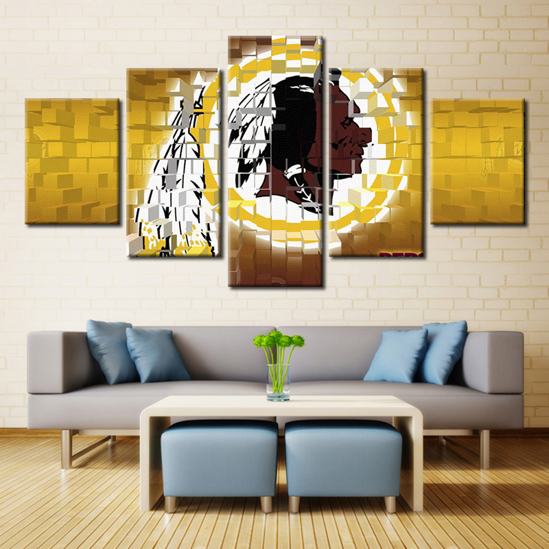 Washington Redskins NFL American Football Perfect Gifts for Fans Oil Artwork Sport Wall Art Painting Home Decor Customized(China (Mainland))