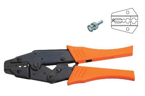 Coaxial Cable Ratchet Crimping Crimper Plier 0.346/0.319/0.256HEX HS-02H1<br><br>Aliexpress