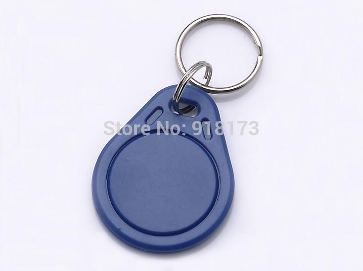 200pcs RFID Key Fobs chain 125KHz Proximity ABS Key Tags Rewritable Access Control ATMEL T5577 Hotel Door Lock(China (Mainland))