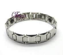 Hot Tungsten Steel Bracelet edges irregular geometric designs personality tungsten steel bracelet high-end men bracelet(China (Mainland))