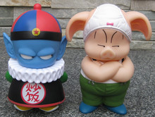 Free Shipping Anime Dragon Ball Pilaf Oolong Pig PVC Action Figure Model Toy Doll 14.5 16cm ADB014