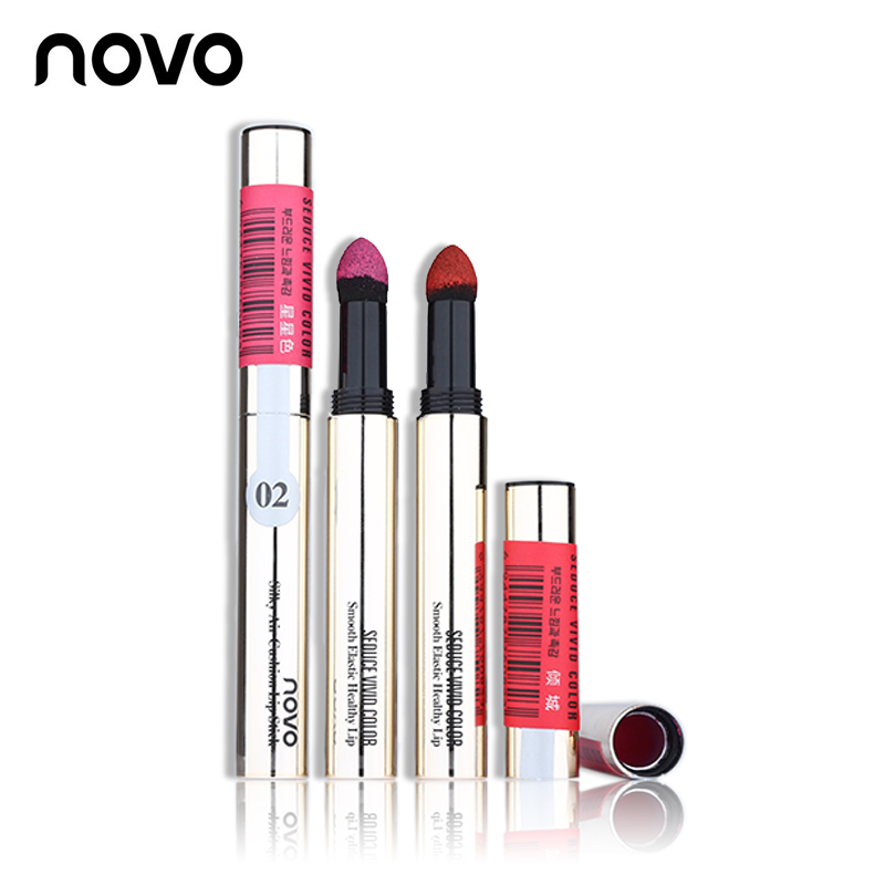 Hot Sale ColorStay Silky Air Cushion Powder Lipstick Long-lasting Waterproof Lip Gloss Smooth Lips Makeup Cosmetic Lip Stick(China (Mainland))