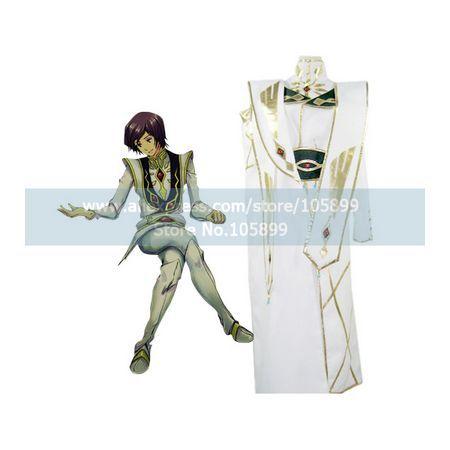 Code Geass Lulu White Halloween Cosplay CostumeОдежда и ак�е��уары<br><br><br>Aliexpress