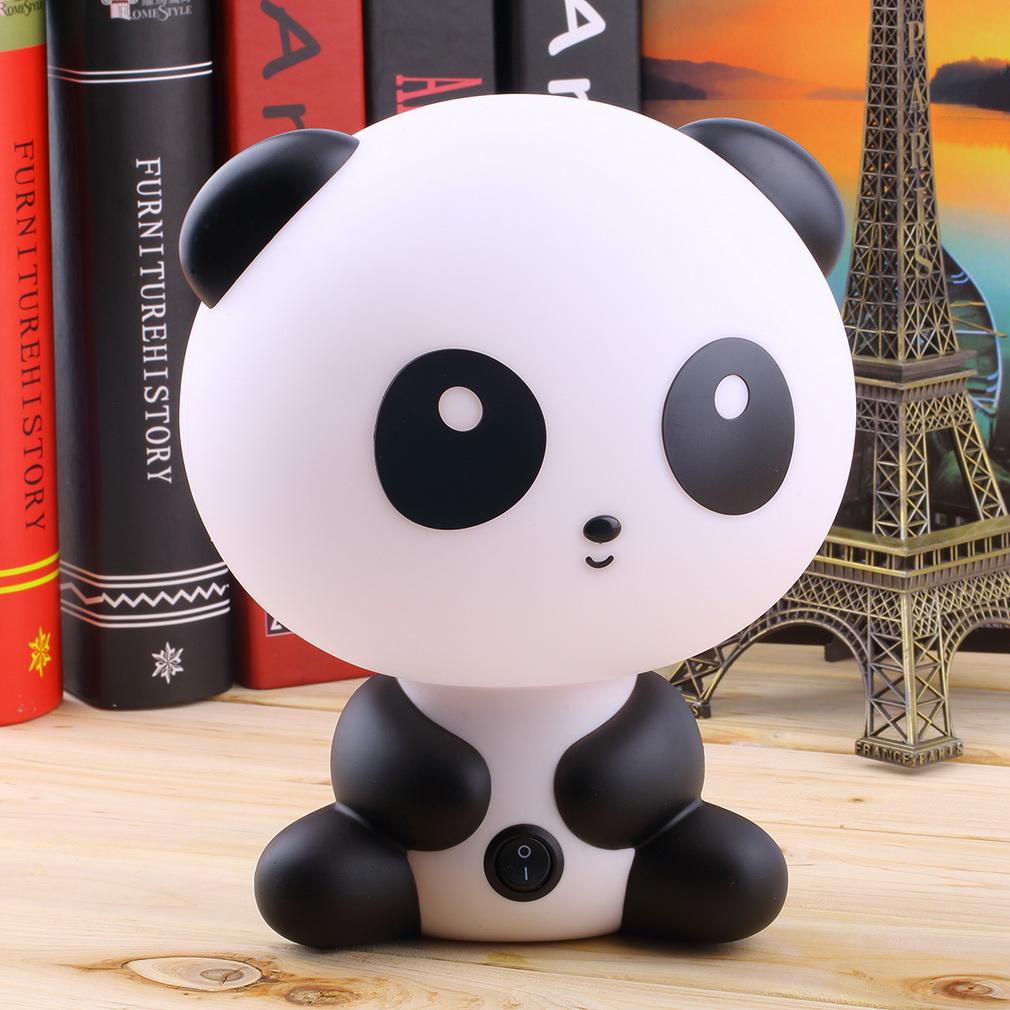 good quality Cute Panda Cartoon Kids Bed Desk Table Lamp Night Sleeping Lamp Gift Hot Search<br><br>Aliexpress