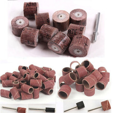 70pcs sandpaper grinding wheel dremel tools dremel accessories rotary tool abrasive sanding paper polishing for woodworking disc