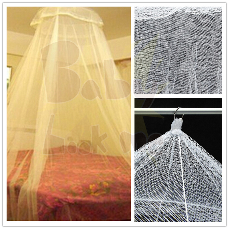 Fashion Home Bedding Mosquito Netting Furnishing Graceful Lace Elegant Netting Bed Canopy Mosquito Net(China (Mainland))