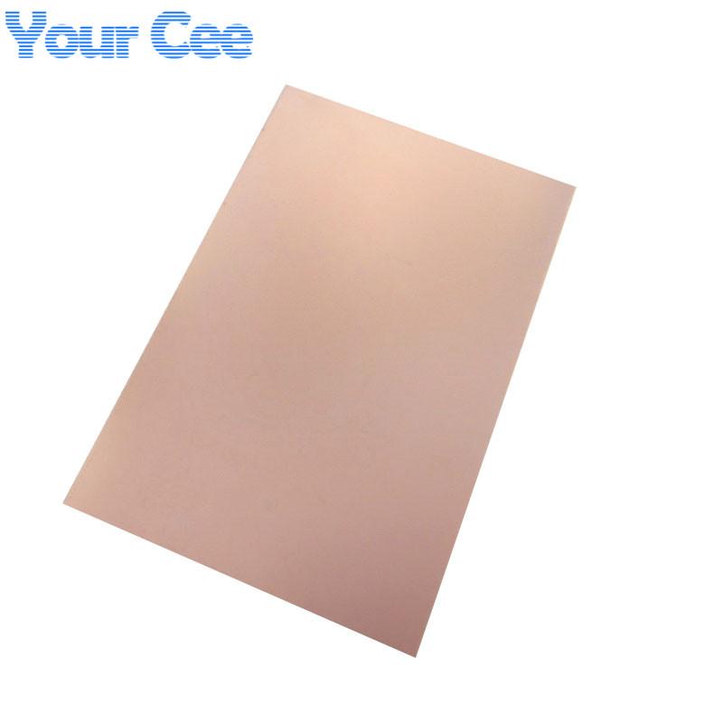 Epoxy Fiber FR4 Copper Clad Plate Laminate Circuit Board Double Side PCB 75 x 100 x 1.5mm 10X7.5cm DIY 2016 New(China (Mainland))
