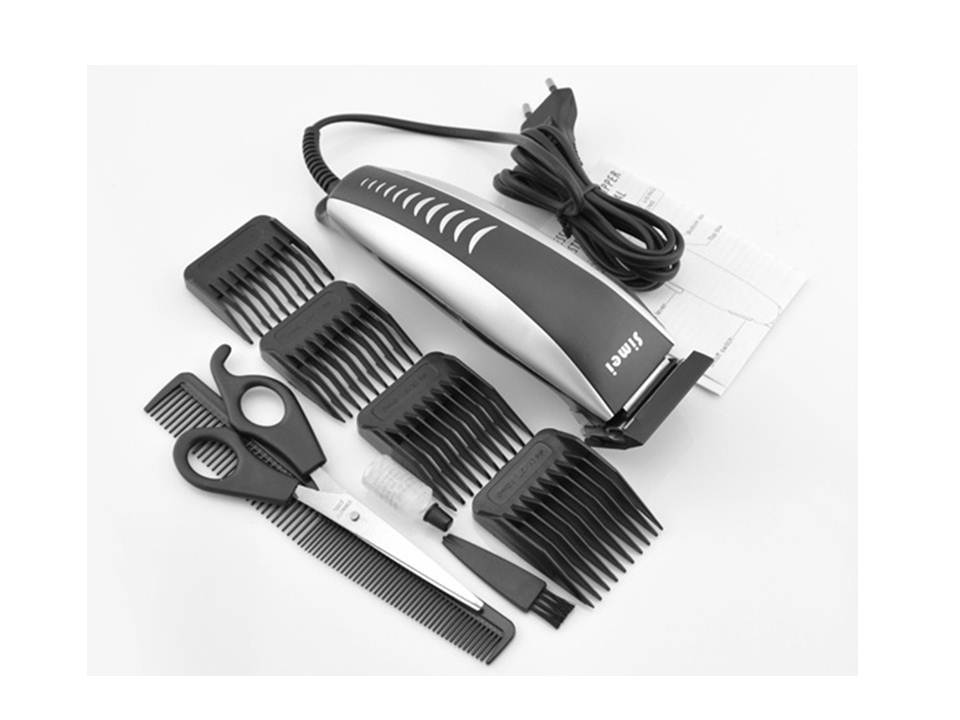 Professional Electric Hair Clipper Powerful While Low Noise Machine Haircut And Hair Trimmer For Men Free Shipping(China (Mainland))