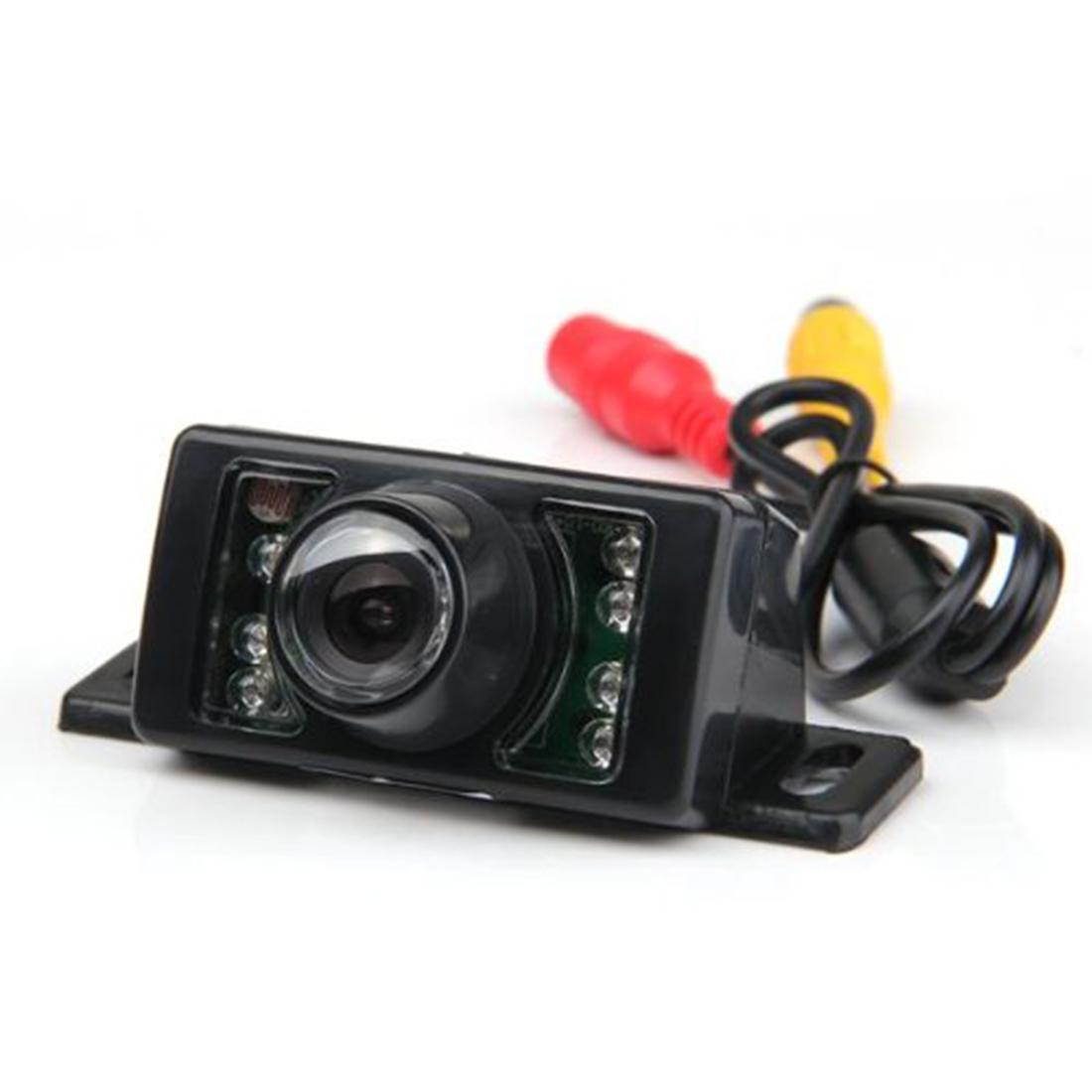 Night Vision CMOS Back Up Reverse Wide Angle Car Vehicle Color Rear View Camera Free Shipping(China (Mainland))
