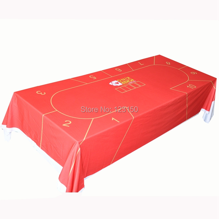 WP-053 Professional Water Resistant Poker Table Cloth, Texas Holdem, 1PC, Free shipping(China (Mainland))