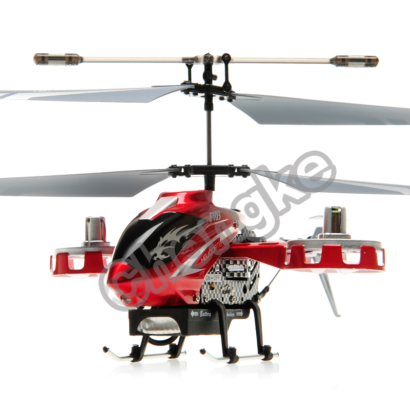Free Shipping 2015 New DFD F103 4.5 Channel Remote Control RC Helicopter with Glancing Lights(China (Mainland))