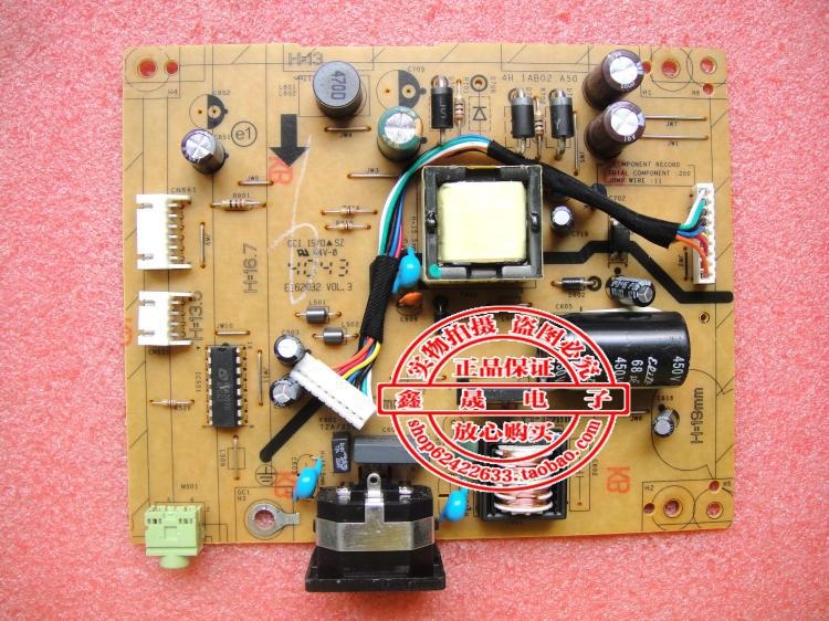 Free shipping 100% original good stock VE198 LED power supply board 4H.1AB02.A50 pressure plate(China (Mainland))