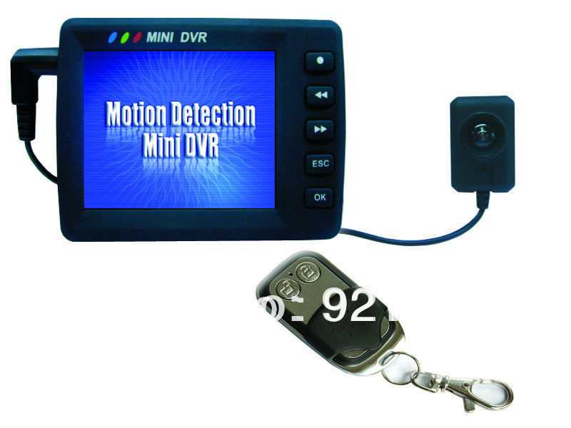 """Wholesale New Arrival 2.5"""" LCD Portable Mini Video Recording System Button DVR Video Recorder for Action Sport Bike motobike(China (Mainland))"""