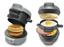 PARTYBABY breakfast artifact Quick hamburger sandwich maker Hamilton Beach