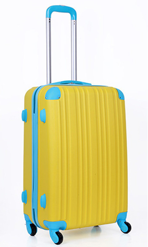 Trolley luggage travel bag female color block luggage password box sub-trunk