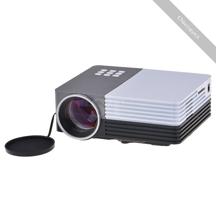 New portable mini led lcd projector hd home cinema theater for Pocket sized hd projector