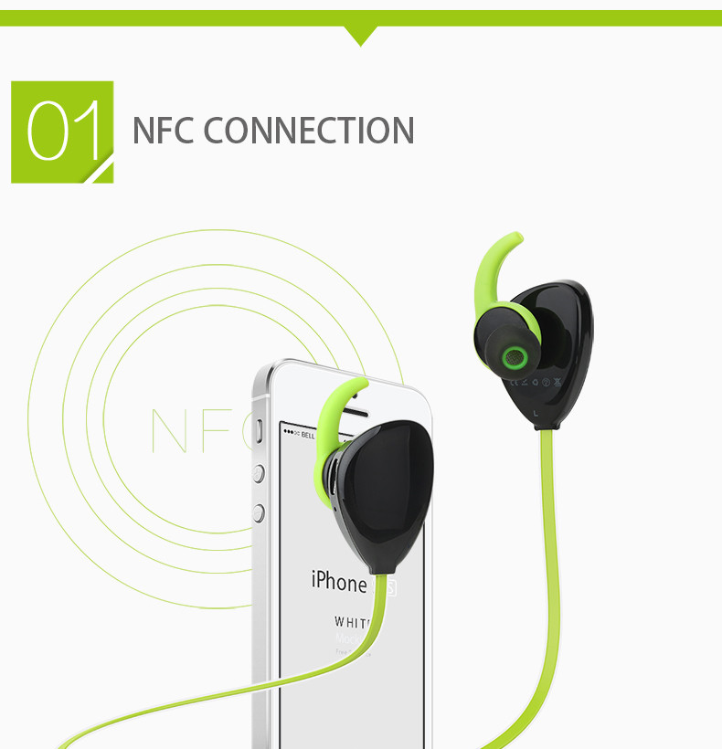 Sound Intone X13 Sport In-Ear Wireless Bluetooth earbuds Noise Cancelling Earphones for Phone Studio Music Headset with Mic