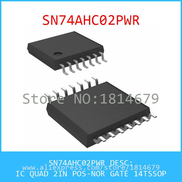 Integrated Circuit SN74AHC02PWR IC QUAD 2IN POS-NOR GATE 14TSSOP 5pcs(China (Mainland))