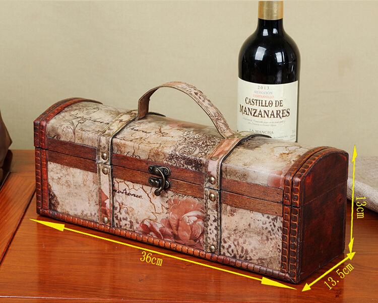 Вино в деревянном ящике подарок 54